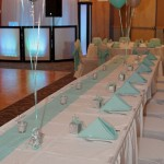 Head Table at Monarch Hall